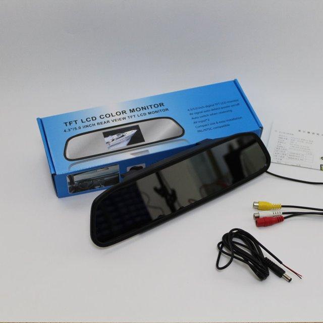 Para Volvo S40L S40 V40 V50 Espelho Retrovisor Do Carro Monitor de Tela de Exibição/4.3 polegada/HD TFT LCD PAL NTSC TV a Cores de Segurança sistema