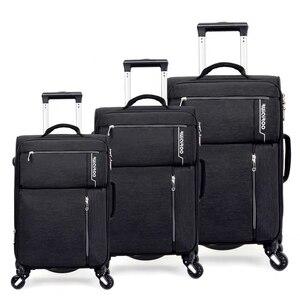 """Image 2 - VIAGGIO RACCONTO 20 """"24"""" 28 """"pollici impermeabile spinner trolly valigia set 3 pezzi set di valigie per il viaggio"""