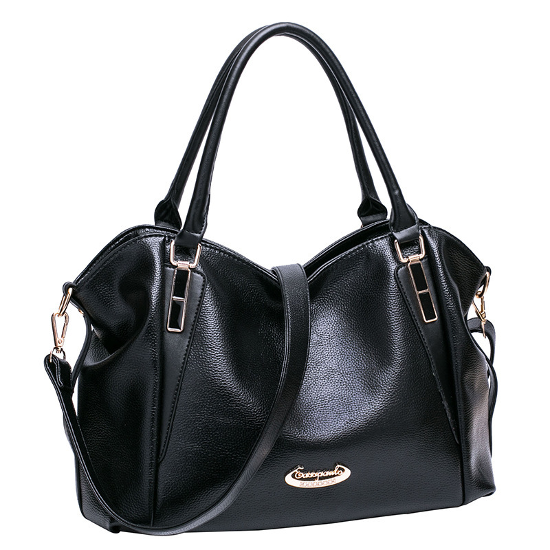 New Fashion Shoulder Portable Messenger Bag Litchi Soft-leather Large Capacity Bags mantra cocoon
