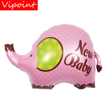 VIPOINT PARTY 80x56cm pink green elephant foil balloons wedding event christmas halloween festival birthday party HY-311