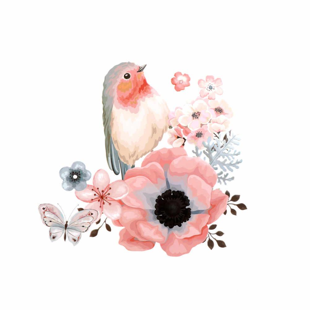1 x DIY Blume Patch T-shirt Kleidung A-ebene Strass Motiv auf Kristall Patch High-ferse Herz Schmetterling stickerei Applique