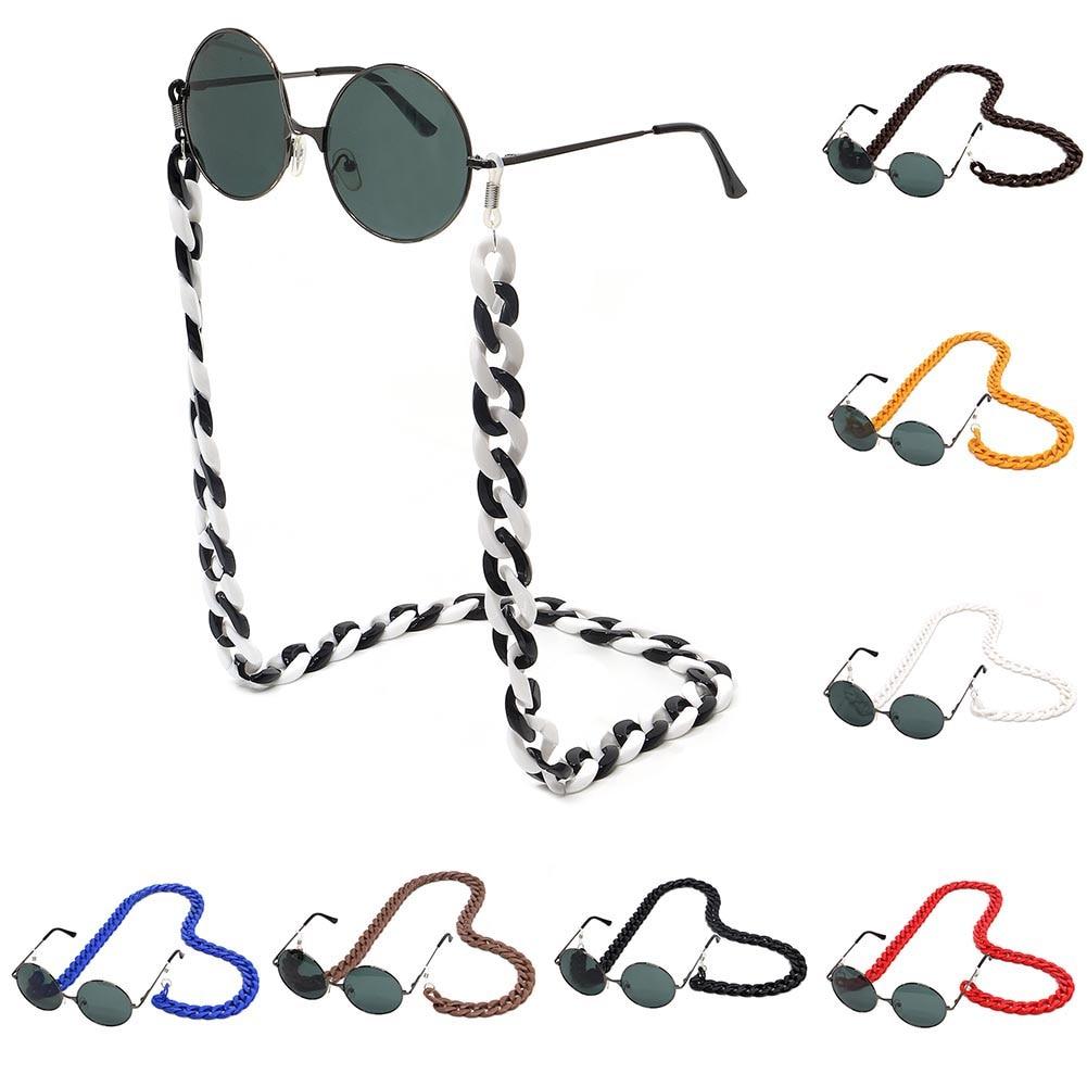 70cm Acrylic Reading Glasses Hanging Neck Chain DIY Sunglasses Lanyards Eyewear Eyeglass Fashion Hot Strap