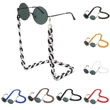 70cm Acrylic Reading Glasses Hanging Neck Chain DIY Sunglasses Lanyards Eyewear Eyeglass Fashion Hot Strap