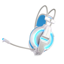 G7000 7.1 Digital Encompass Sound Vibration Sport Gaming Headphone Pc Headset Earphone Headband with Microphone LED Gentle