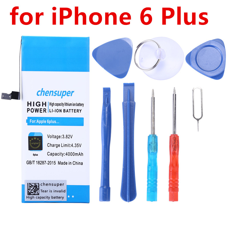 Chensuper Free-Tools Plus-Battery IPhone6 Apple 6-Plus For New