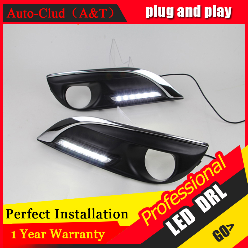Auto Clud car styling For peugeo 308 2012-2014 LED DRL For 308 2012-2014 led daytime running light High brightness guide LED DRL