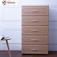 Bedroom drawer organizer 5 layers witch wheel Easy to move Multifunction storage organizer cloths or underwear organizer