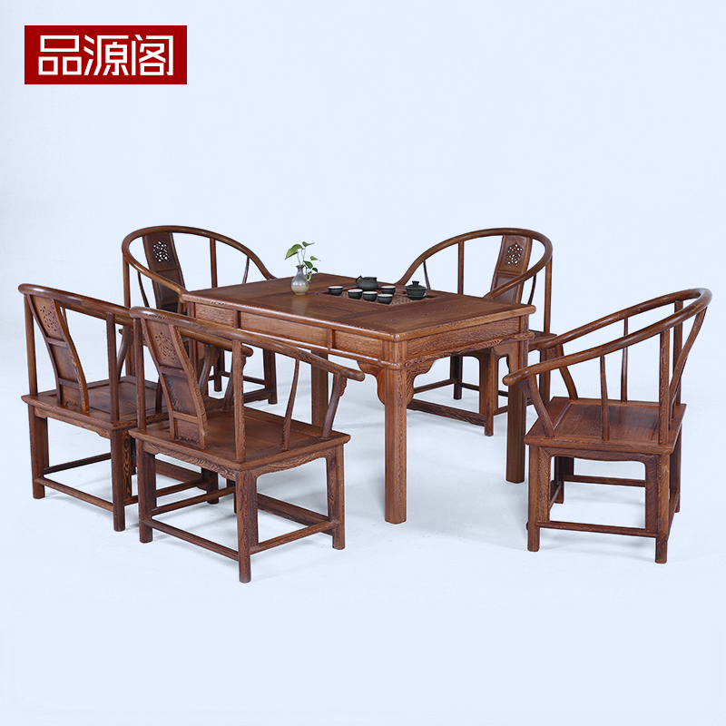 Wood Combo Chair: Mahogany Tea Table Wood Coffee Chinese Tables Wenge