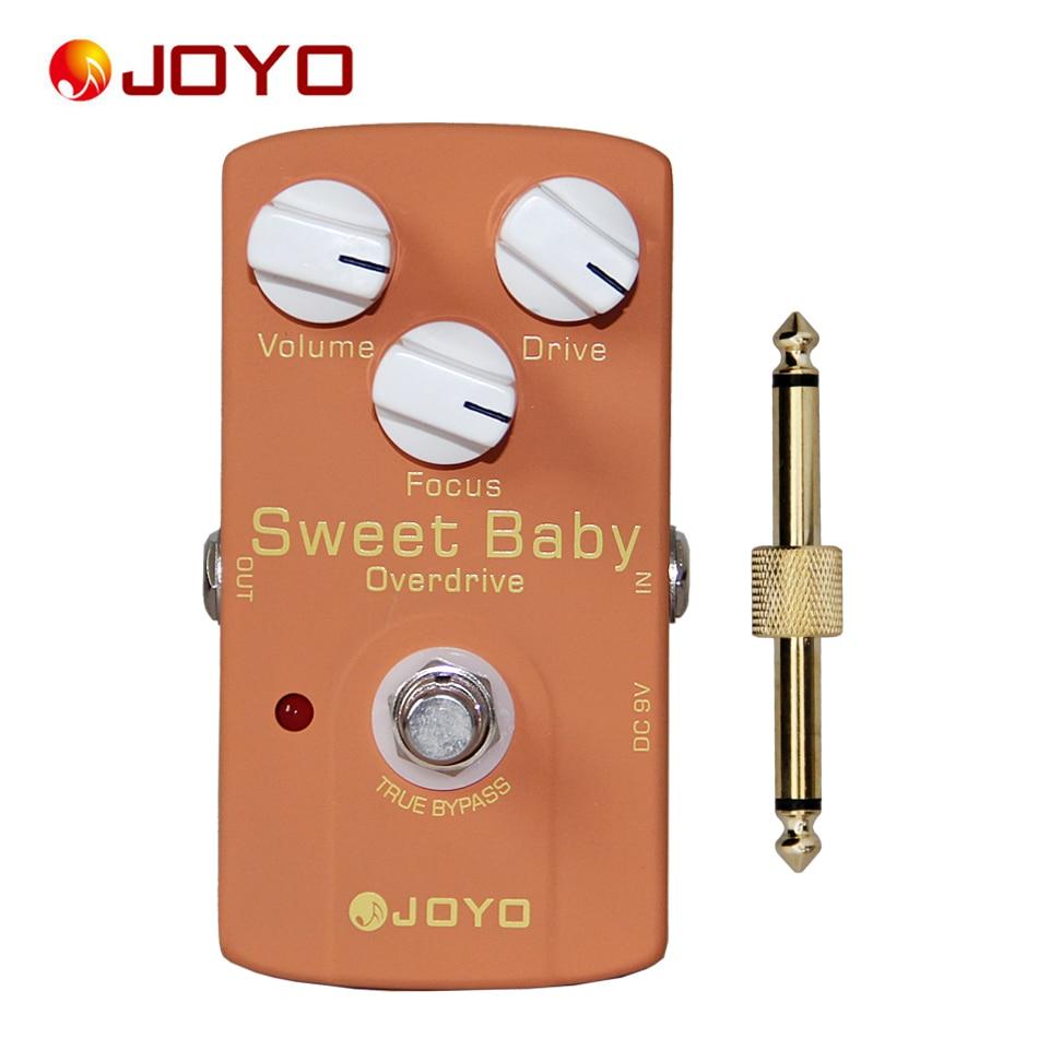 JOYO JF-36 Effece pédale douce bébé, véritable dérivation design + 1 pc pédale connecteur guitare effet pédale