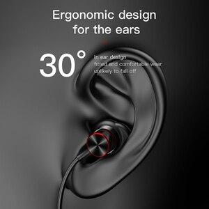 Image 5 - Baseus fone de ouvido apoiável no pescoço s12, fone auricular wireless com bluetooth 5.0, headset com microfone