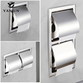 Yanjun Recessed/Wall-in 304 Stainless Steel Toilet Paper Holder Bathroom Accessories YJ-8850