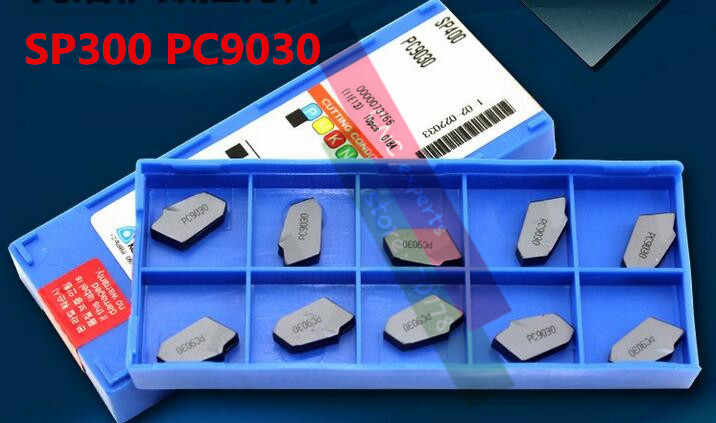 SP300 PC9030 Korloy Brand Parting off carbide inserts Parting off Plates for SPB Parting Blade Suitable