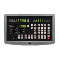 2 Axis Digital Readout Set Kit for Lathe Machines with Optical Encoder 50mm to 1000mm for Milling Machines Free Shipping