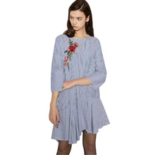 1f713f789 Buy flower embroidered dress patterns and get free shipping on ...