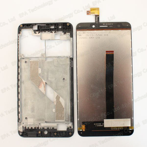 Image 4 - UMI Super LCD Display+Touch Screen Digitizer+Middle Frame Assembly 100% Original New LCD+Touch Digitizer for Super F 550028X2N