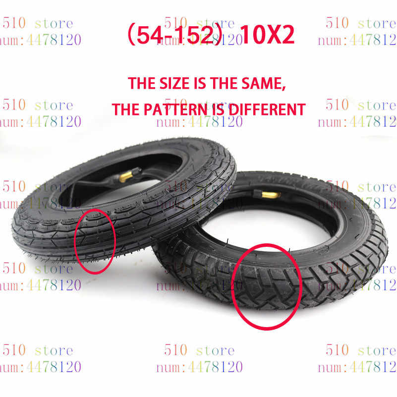 10X2 Inch Tyre Band/Binnenband Voor Scooter Kinderwagen Kinderwagen Kinderen Fiets Roadster Trike Driewieler Achterwielen gebogen Klep