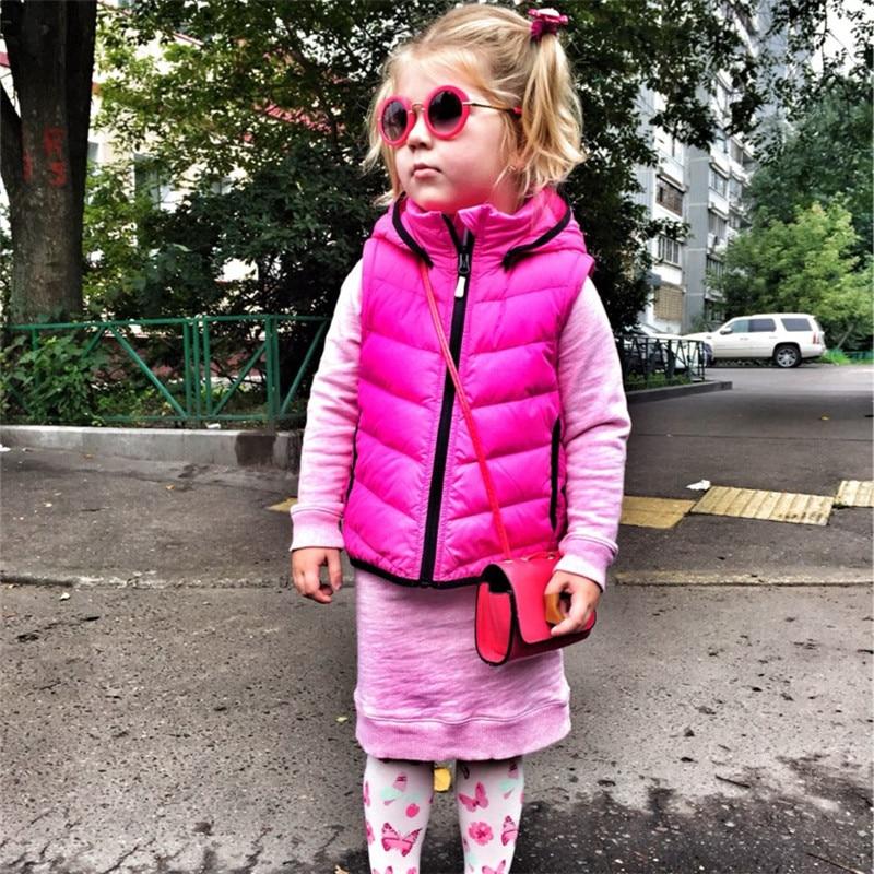 2019 Kids Solbriller Boys Kids Oculos Fashion Round Cute Brand - Beklædningstilbehør - Foto 2