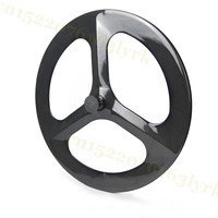 Carbon Wheels Full Carbon Rim Tri Spoke China 3 Spoke Carbon Wheels Fixed GearTrack 3 Spoke