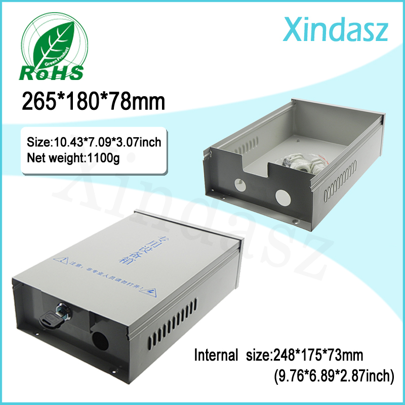 (XD0407004)CCTV monitor junction box Security monitoring power waterproof box Security Distribution Box 265*180*78mm pandun regulated power supply box for cctv security camera seourity monitoring waterproof box