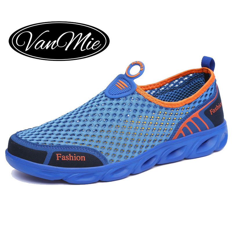Vanmie Brand Men Casual Shoes 2019 Summer Men Shoes Slip