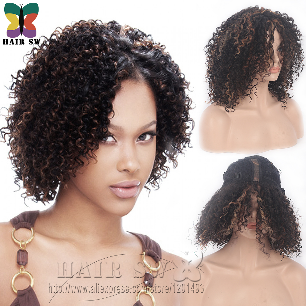 Freetress Equal Short Jerry Afro Curl Heat Resistant Synthetic Hair