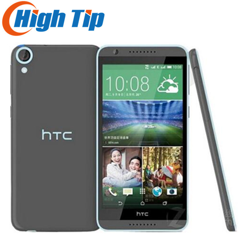 "Original HTC Desire 820 Dual sim Mobile Phone Octa Core 5.5"" Qualcomm Android 4.4 13.0MP RAM 2GB ROM 16GB Refurbished phone"