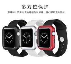 Магнитный Алюминий металлический каркас сплава чехол 38 мм 42 мм 40 мм 44 мм для Apple Watch серии группа 4/3/2/1 встроенный Магнит