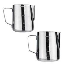 350 ml 600 ml taza de leche tazas de café espresso latte art jarro tire flower taza cappuccino herramientas de cocina