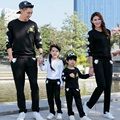 Family Matching Full Sleeve Mother Daughter Father Son Clothing Family Set Parent-Child Clothes Family Clothing Sets 3XL ML7
