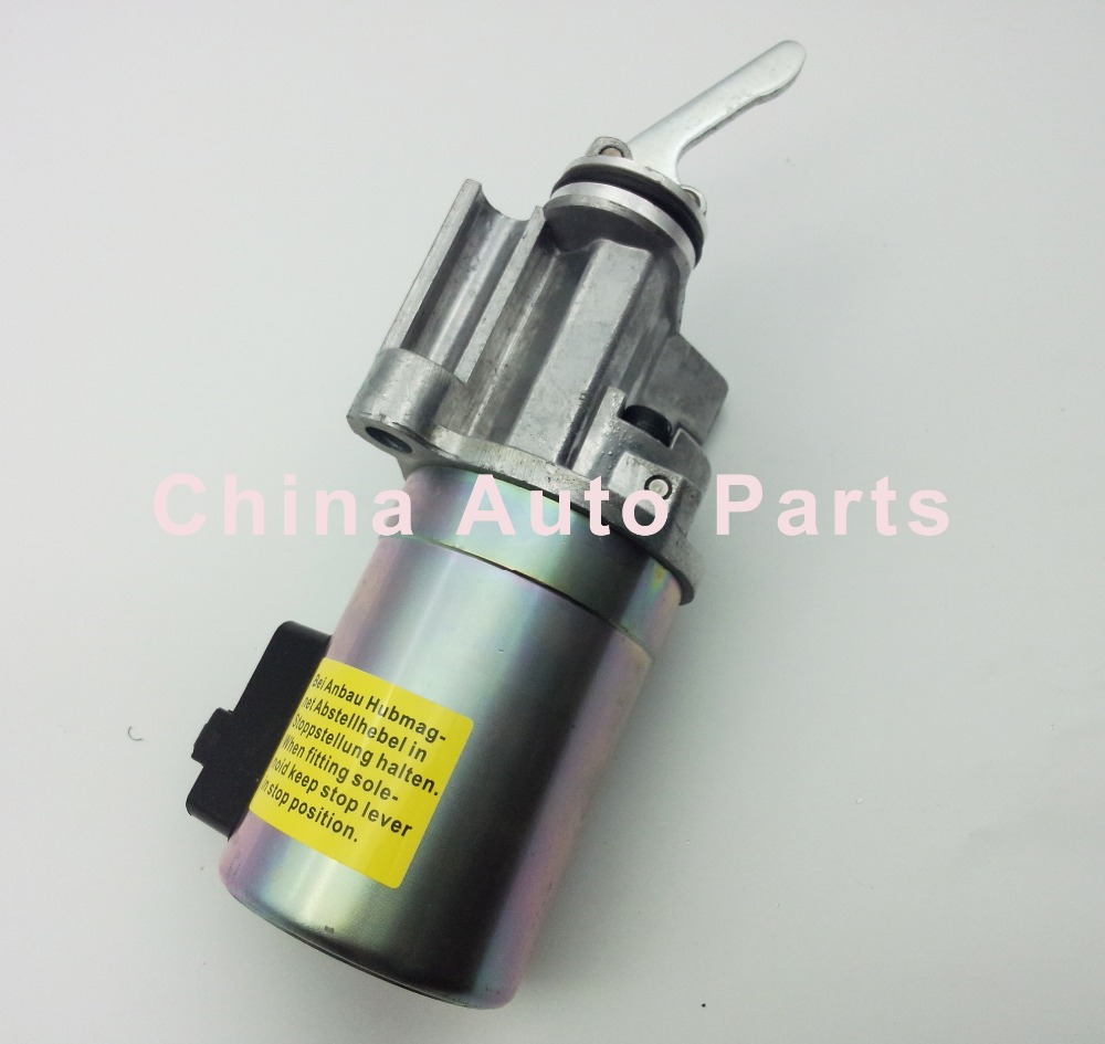 Deutz 1012 Engine Fuel shutdown stop solenoid valve 04199901 0419 9901 24V