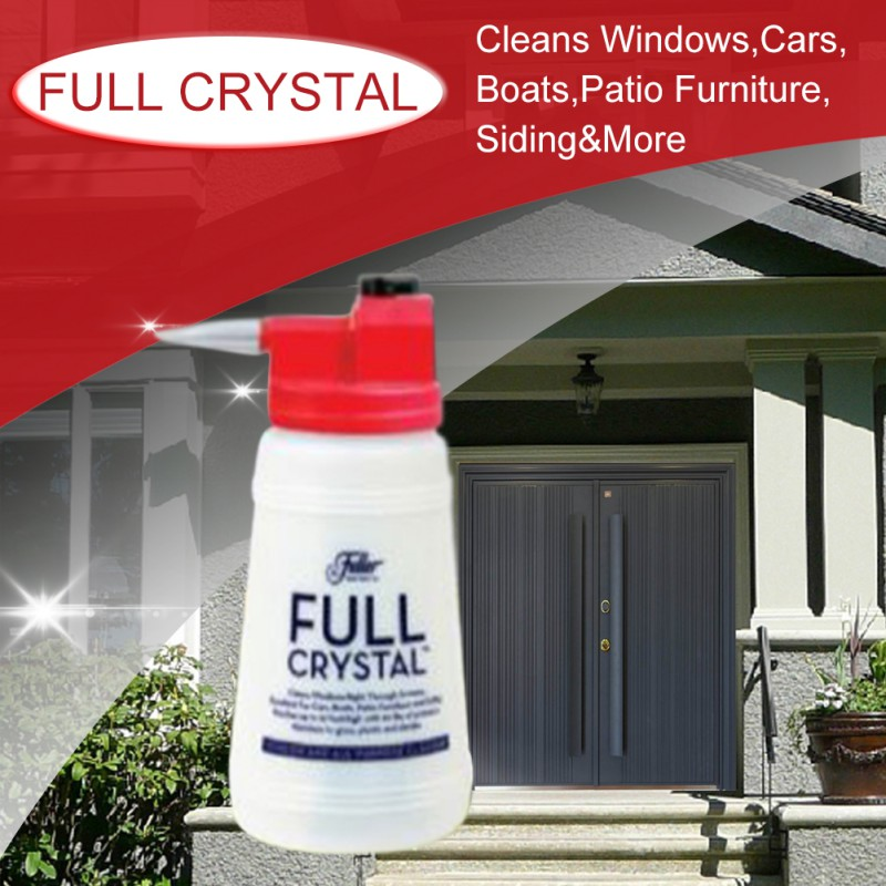 Full Crystal Outdoor Glass Cleaner Home Garden Handheld Spray Mighty Fuller Cleaning Tool Brush Drop Shipping