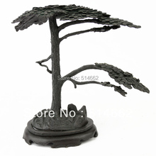 FENGSHUI  BRASS  PINE TREE STATUES/PINE TREE Figurines/PINE TREE Sculptures