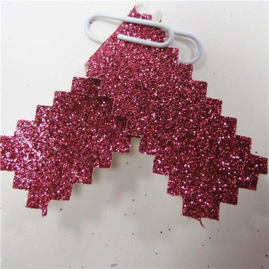 Красочные Тонкие Блестки Ткань блестящий материал 30*138 см мини рулоны пришить, клей или высечки, обои, Diy ремесло, банты для волос - Цвет: 15