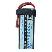 XXL RC Lipo Batterie 10000 mah 7.4 V 2 S 25C max 50C Pour Multimoteur DJI S800 s900 s1000 Hélicoptères Cars Avions