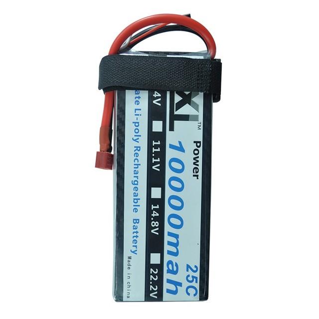 Xxl rc lipo batería 10000 mah 7.4 v 2 s 25c max 50c para multimotor dji s1000 s800 s900 helicópteros cars airplanes