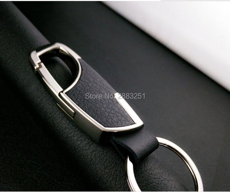 HOT Car Styling Fashion Leather Key Chain Key Ring For <font><b>BMW</b></font> e46 e90 e39 f30 f10 e36 e60 x5 e53 f20 e34 <font><b>x3</b></font> x6 e91 car <font><b>accessories</b></font> image
