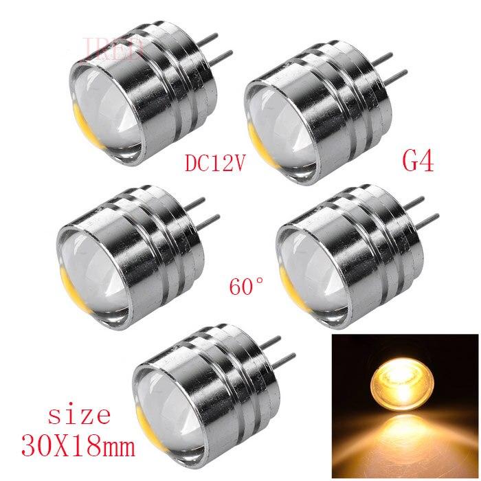 5 шт./лот светодиодный DC 12 В удара G4 очень яркий, G4 2 Вт светодиодный светильник светодиодный g4 свет мини лампы Кукурузы светодиодный высокое ...