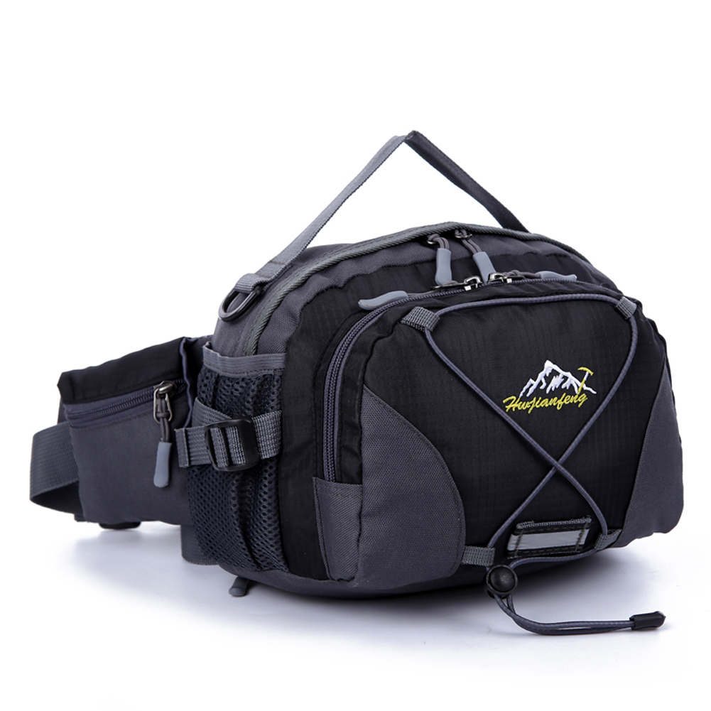 8L Multifunctional Waist Bag Professional Polyester Bags Outdoor Military Shoulder Bag for Climbing Camping Hiking Traveling multifunctional professional handle pulley roller gear outdoor rock climbing tyrolean traverse crossing weight carriage fit