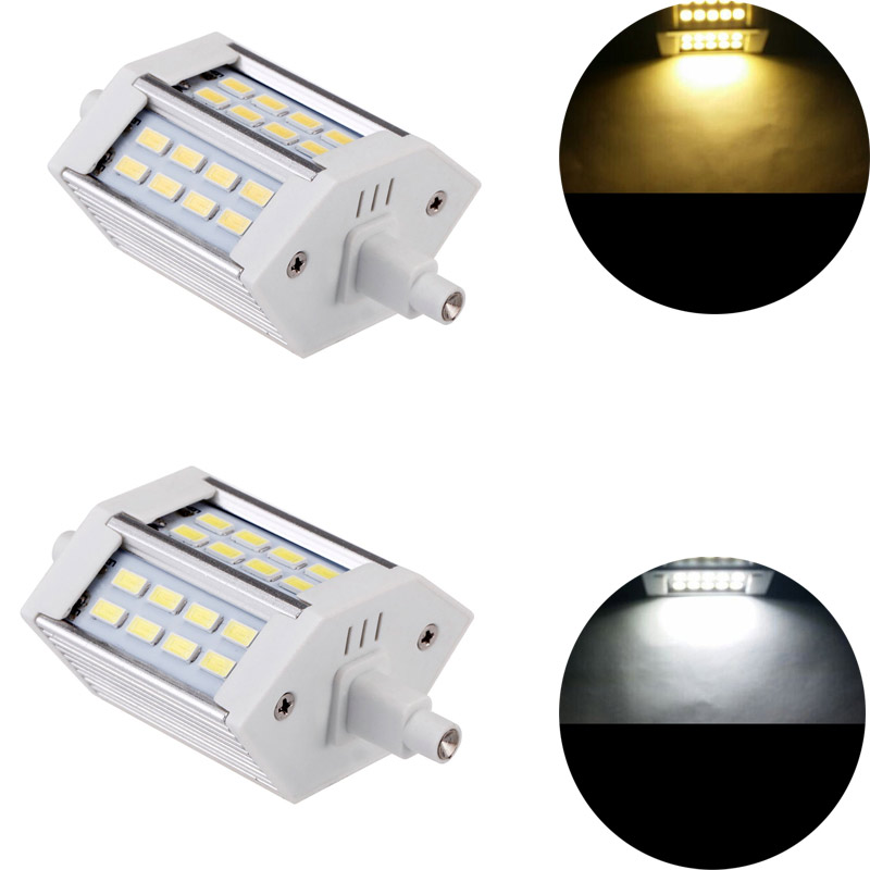 Dimmable <font><b>R7S</b></font> <font><b>LED</b></font> light SMD5730 10W 20W <font><b>30W</b></font> 78mm 118mm 189mm corn floodlight spotlight Bulb Energy Saving Replace Halogen Lamp image
