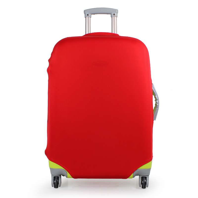 OKOKC  Solid Travel Elastic Luggage Cover Suitcase Protective Cover Stretch Apply To 18-32inch Cases, Travel Accessories