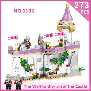 Image 3 - סרט האגדה diy צעצועים מצחיק נסיכת טירה תואם Legoe חברים עיר טירת דגם אבני בניין ילדה צעצועי ילד
