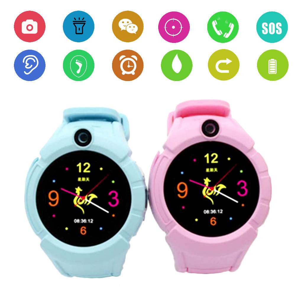G610 Kids Waterproof Smart Watch With SIM Card Round Touch Screen 1.3M Camera SOS Button LBS Positioning Children Smart WatchG610 Kids Waterproof Smart Watch With SIM Card Round Touch Screen 1.3M Camera SOS Button LBS Positioning Children Smart Watch