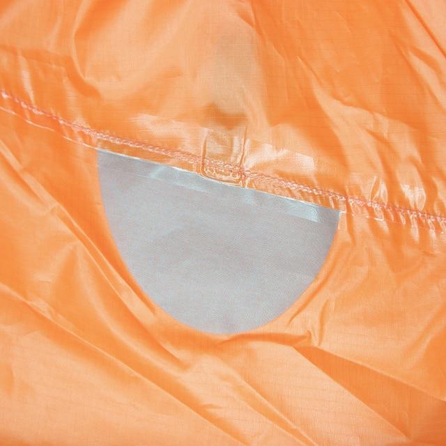 3F UL GEAR Ultralight 15D Poncho Raincoat Outdoor Mini Tarp  5
