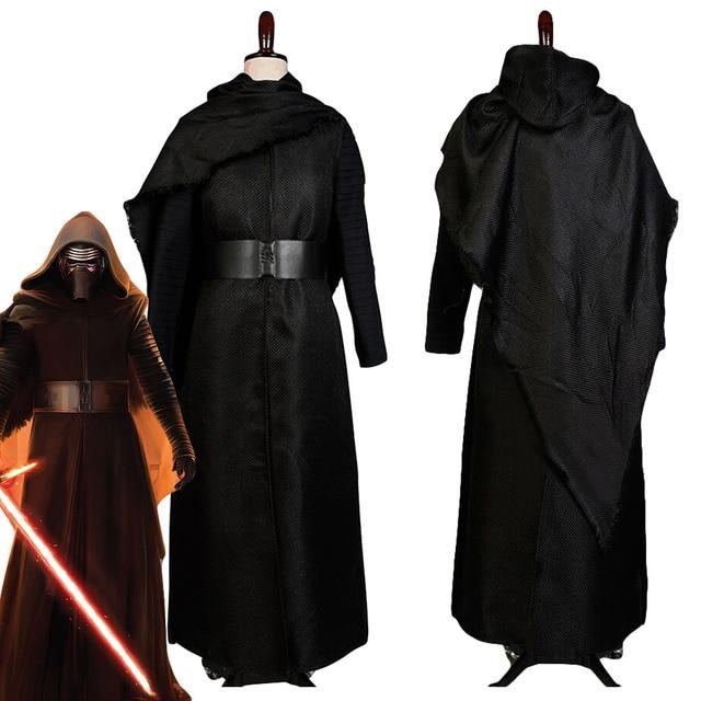 Star Wars Costume Star Wars 7:The Force Awakens Kylo Ren Cosplay Costumes Adult Jedi Halloween Costumes For Men Women