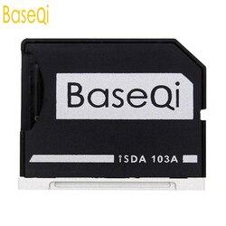 BaseQi Ninja Stealth Drive microSD Adattatore per MacBook Air 13 e MacBook Pro 13/15 ( non-Retina) alternativa Nifty MiniDrive