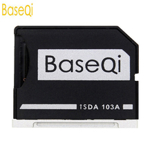 BaseQi NinjaDrive адаптер для MicroSD для MacBook Air 13 «и MacBook Pro 13″/15 «(не retina) Альтернатива изящный MiniDrive