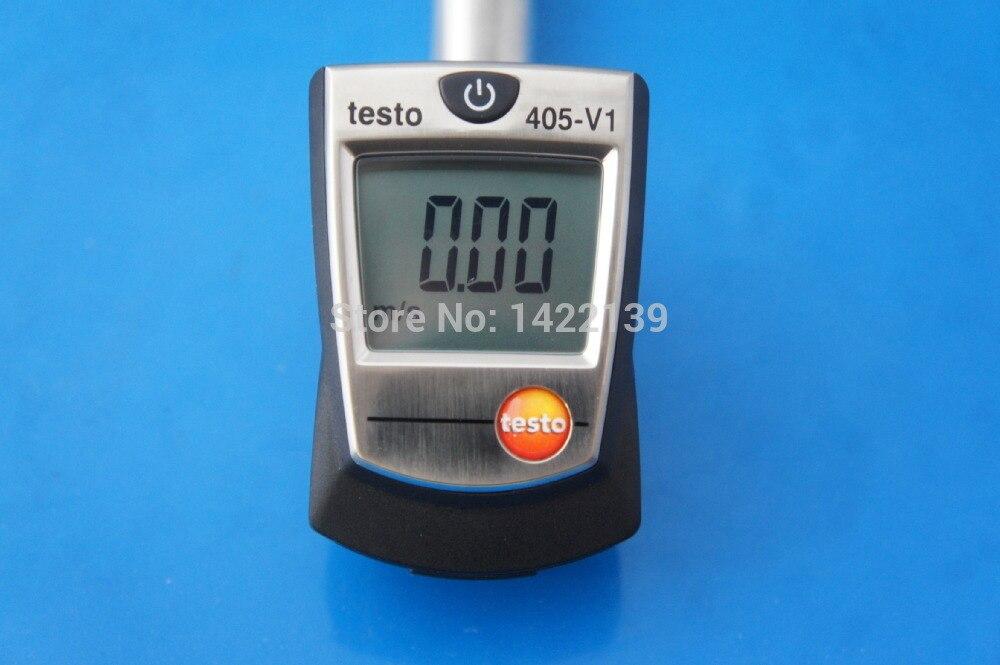 Новый Testo 405 V1 Mini Hot Wire термо Анемометр тестер от 0 до + 10 м/с