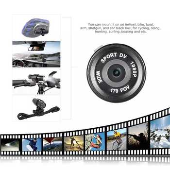 Mini Camcorder Video Recorder FHD 1080P Outdoor Trail Hunting Camera Waterproof HD DVR Torch Gun Cam Outdoor Sports Helmet DV