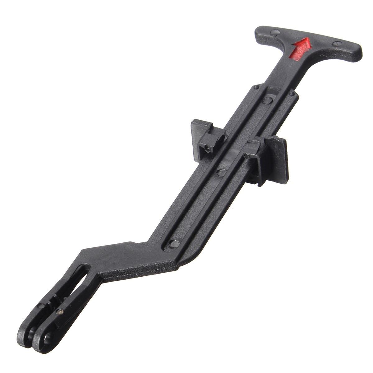 1pc Black Bonnet Hood Release Rod Lock Latch Handle 3B0823593 for VW Passat B5 B5.5 1998 1999 2000 2001 2002 2003 2004