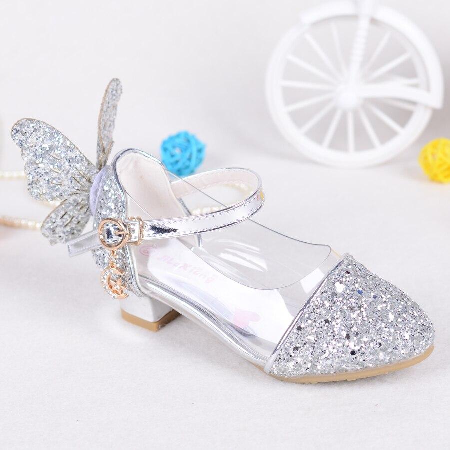 Peuter Meisjes Wing Glitter party pumps sandaal Pailletten Butterfly - Kinderschoenen - Foto 4